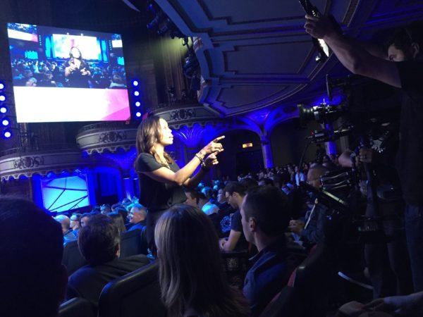 Aisha Tyler at the Ubisoft show